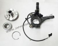 Mitsubishi Outlander CU5W - 2.4PETROL - 4WD (11/2003-10/2006) - Front Steering Knuckle + ABS Anti Skid Sensor + HUB + Bearing R/H